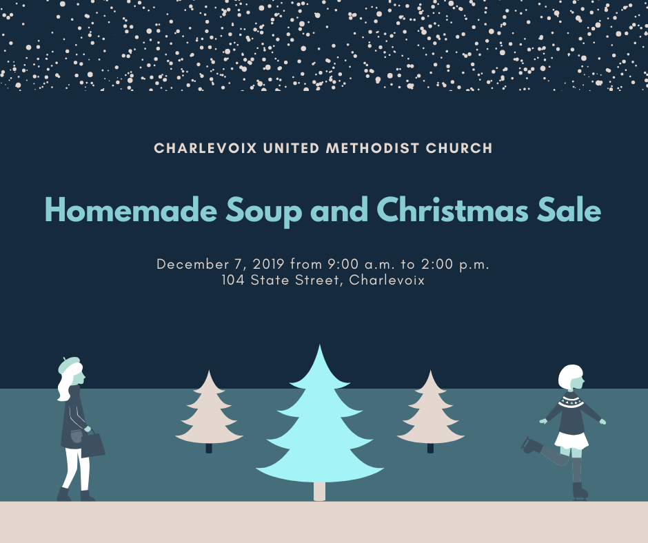 Homemade Soup and Christmas Sale